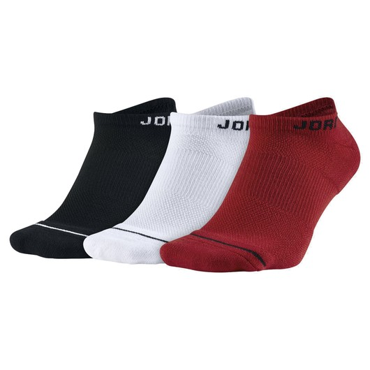 Nike Jordan Jumpman No-Show (3 Pairs) Erkek Çorap