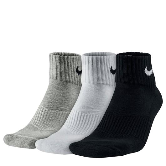 Nike Cushion Quarter (3 Pair) Erkek Çorap