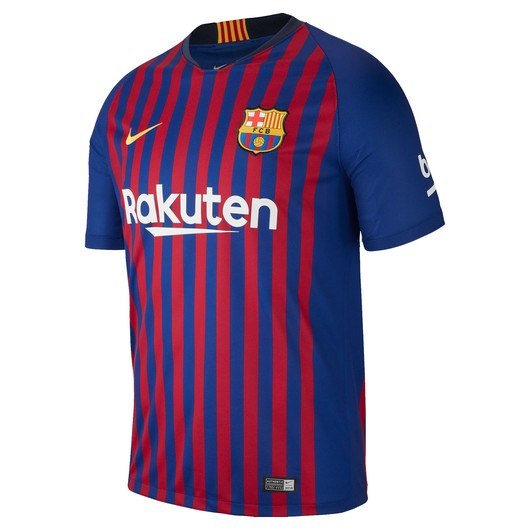 Nike 2018-19 FC Barcelona Stadium Home Football Shirt İç Saha Erkek Forma