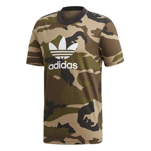 adidas Camouflage Trefoil SS19 Erkek Tişört