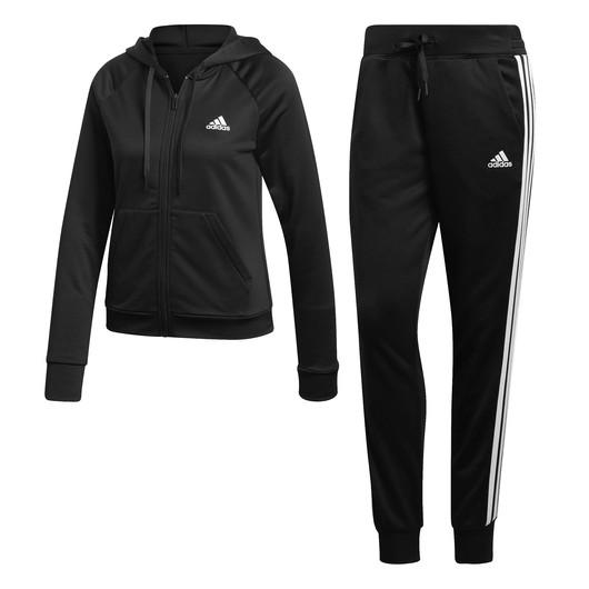 adidas Big Badge of Sport FZ Hoodie Track Suit Kapüşonlu Kadın Eşofman Takımı