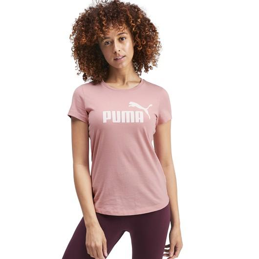 Puma Essentials Logo Kadın Tişört