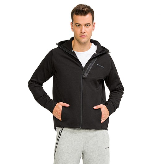 Skechers 2X I-Lock Full-Zip Hoodie Kapüşonlu Erkek Ceket
