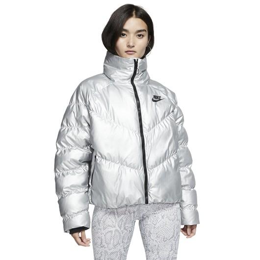 Nike Sportswear Synthetic Fill Shine Kadın Ceket