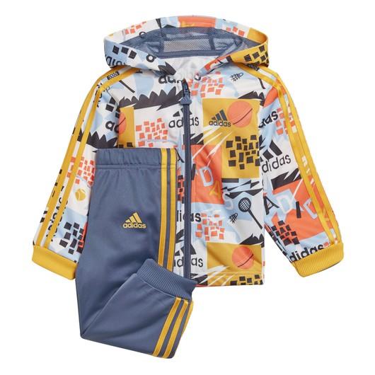 adidas Shiny Inf Hooded Jogger Bebek Eşofman Takımı
