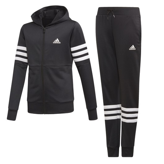 adidas Pes Track Suit Hoodie Kapüşonlu Çocuk Eşofman Takımı