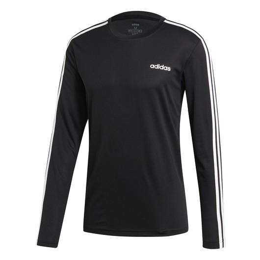 adidas Designed 2 Move Climalite 3-Stripes Uzun Kollu Erkek Tişört