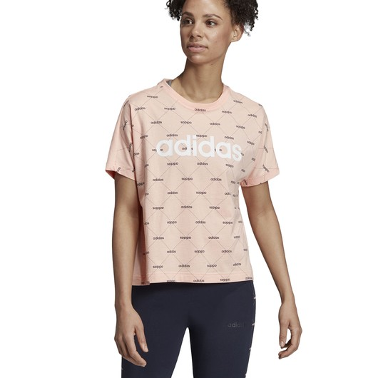 adidas Core Linear Graphic Kadın Tişört