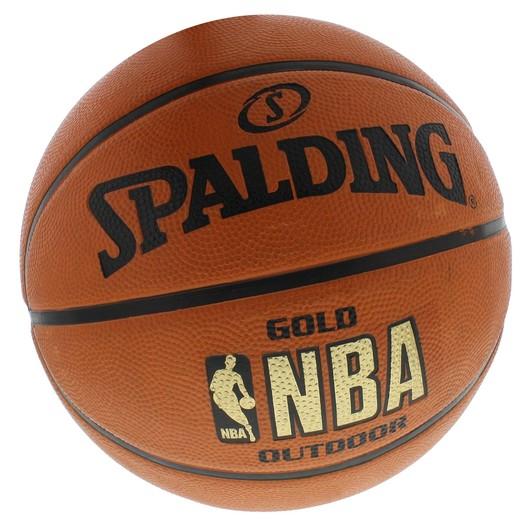 Spalding NBA Gold Outdoor No:7 Basketbol Topu