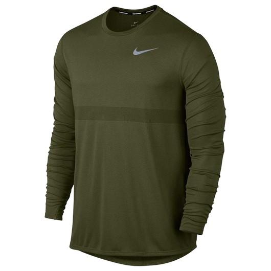 Nike Zonal Cooling Relay Top Erkek Uzun Kollu Tişört