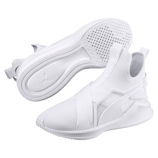 Puma Fierce Strap Leather Kadın Spor Ayakkabı