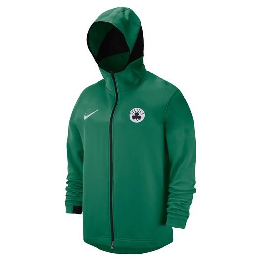 Nike Dri-Fit Boston Celtics Showtime Full Zip Hoodie FW18 Kapüşonlu Erkek Sweatshirt