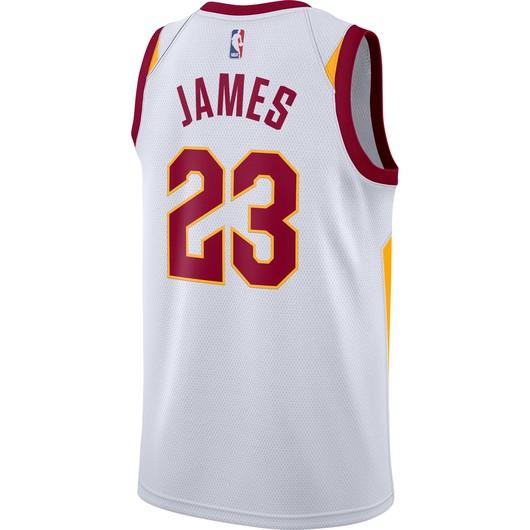 Nike LeBron James Association Edition Swingman Jersey Cleveland Cavaliers Fw18 Erkek Forma