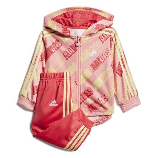 adidas Infant Shiny Full-Zip Hooded Kapüşonlu Bebek Eşofman Takım