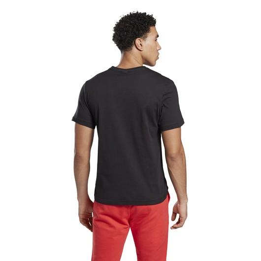 Reebok Graphic Series Stacked Short-Sleeve Erkek Tişört