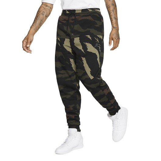 Nike Jordan Jumpman Fleece Camouflage Trousers Erkek Eşofman Altı