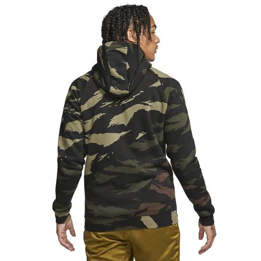 Nike Jordan Jumpman Camouflage Full-Zip Hoodie Erkek Sweatshirt