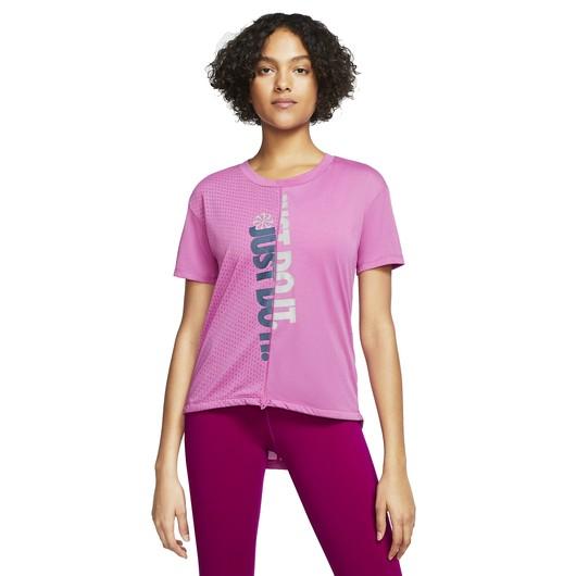 Nike Icon Clash Short-Sleeve Running Top Kadın Tişört