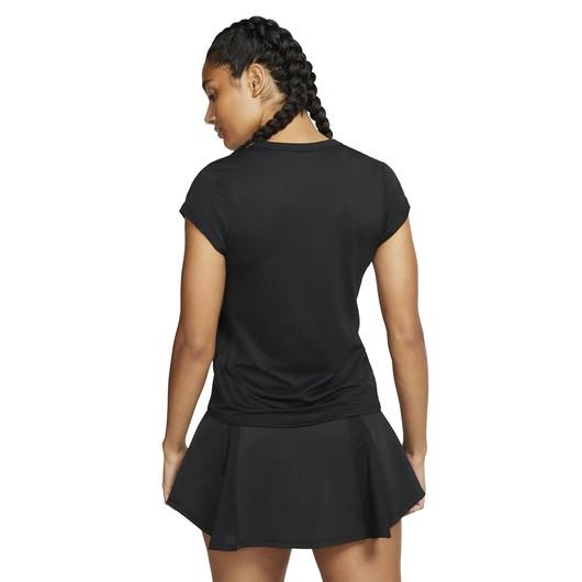 Nike Court Dri-Fit Short-Sleeve Tennis Top Kadın Tişört