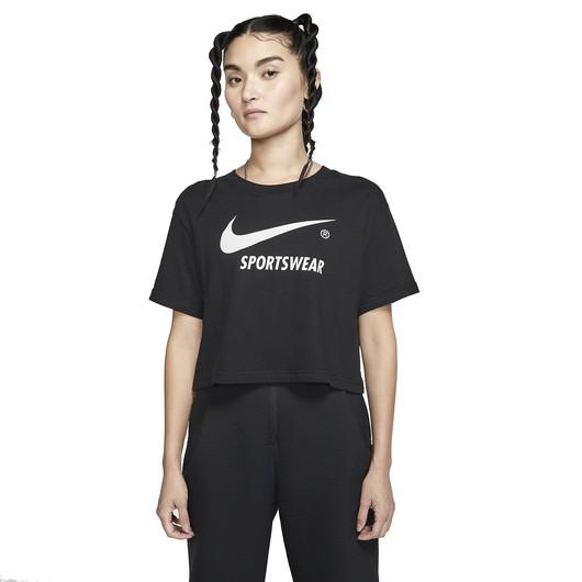 Nike Sportswear Short-Sleeve Crop Top Kadın Tişört