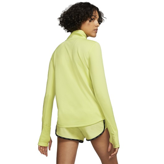Nike 1/4-Zip Running Top Uzun Kollu Kadın Tişört