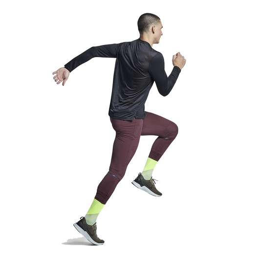 Nike Dri-Fit Miler Long-Sleeve Running Top Erkek Tişört
