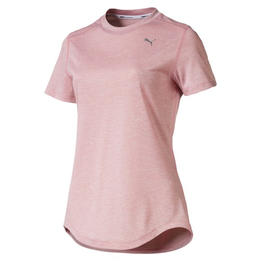 Puma Ignite Heather Running Short Sleeve Kadın Tişört