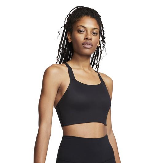 Nike Swoosh Luxe Medium Support Sports Kadın Büstiyer