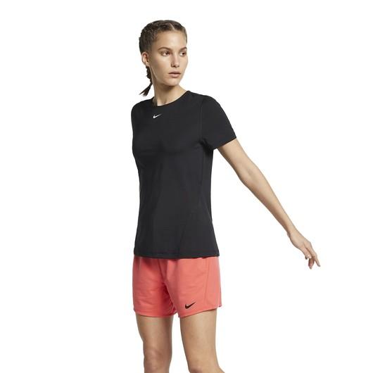 Nike Pro Short-Sleeve Mesh Training Top Kadın Tişört
