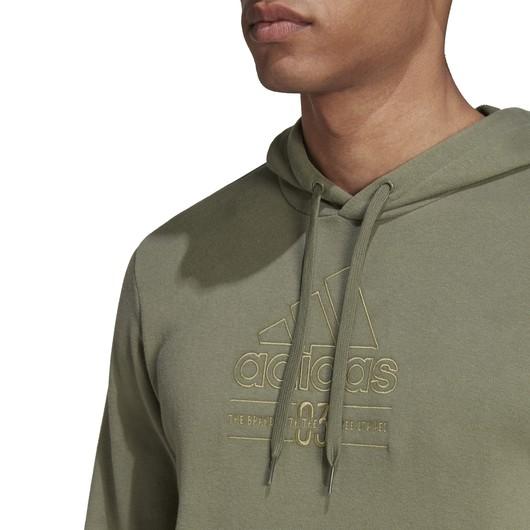 adidas Brilliant Basics Hooded Erkek Sweatshirt