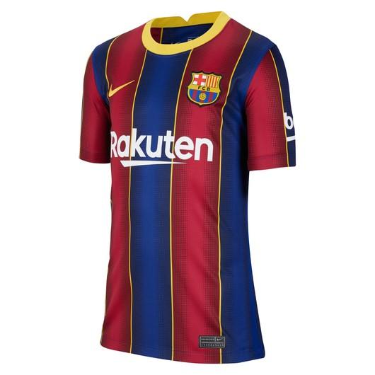 Nike F.C. Barcelona 2020-2021 Stadium Home Çocuk Forma
