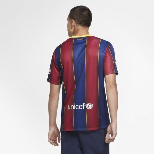 Nike F.C. Barcelona 2020-2021 Stadium İç Saha Erkek Forma