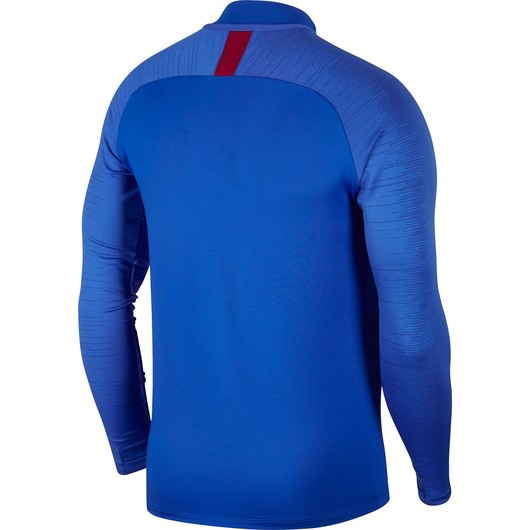 Nike Dri-Fit FC Barcelona Strike Football Long-Sleeve Drill Top Erkek Tişört