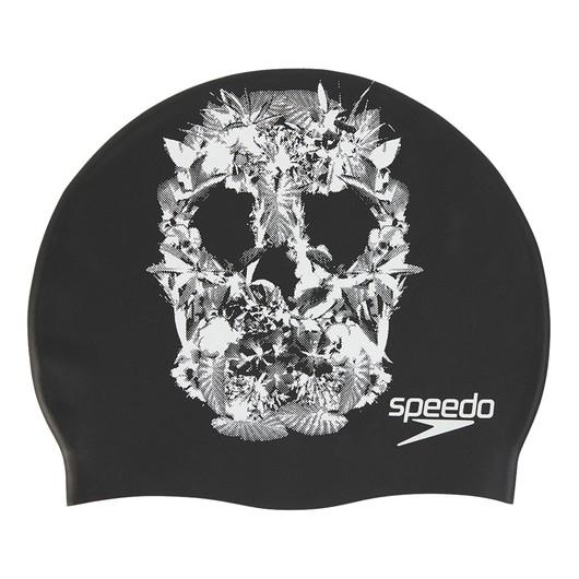 Speedo Slogan Printed SS20 Unisex Bone
