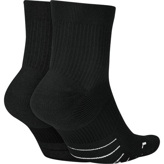 Nike Multiplier Ankle (2 Pairs) Unisex Çorap