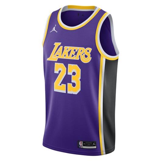 Nike LeBron James Lakers Statement Edition 2020 Jordan NBA Swingman Jersey Erkek Forma