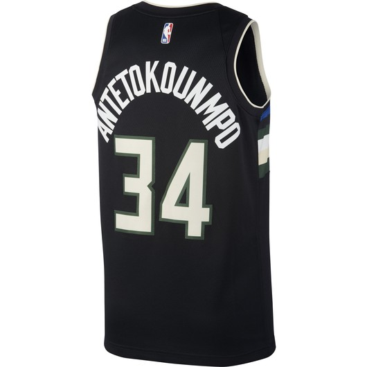 Nike Giannis Antetokounmpo Bucks Statement Edition 2020 Jordan NBA Swingman Jersey Erkek Forma