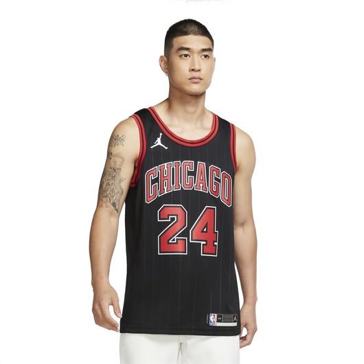 Nike Lauri Markkanen Bulls Statement Edition 2020 Jordan NBA Swingman Jersey Erkek Forma