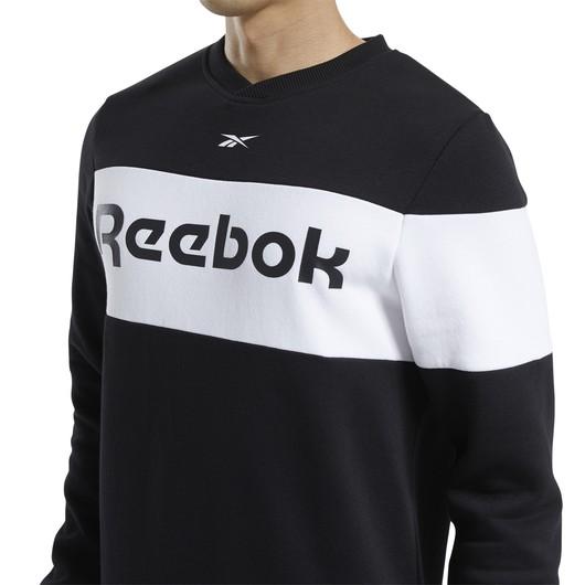 Reebok Training Essentials Fleece Crew Erkek Sweatshirt