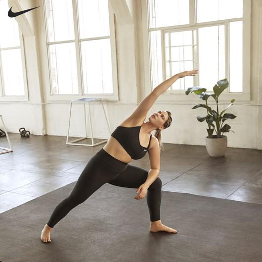 Nike Dri-Fit Indy Light-Support Padded Sports (Plus Size) Kadın Büstiyer