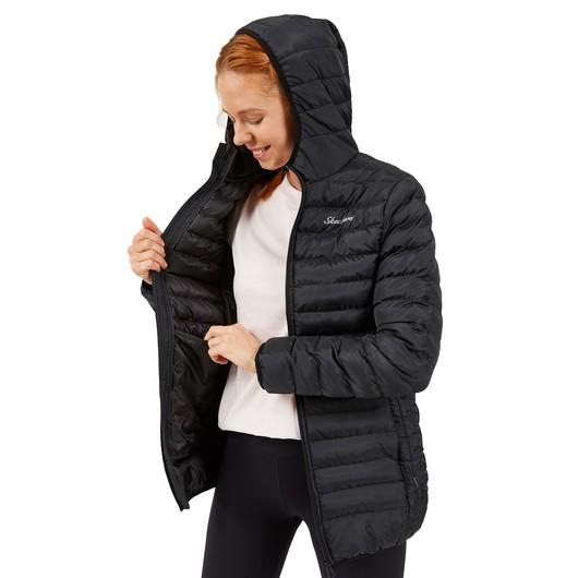 Skechers Outerwear Long Paded Full-Zip Hoodie Kadın Ceket