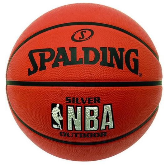 Spalding NBA Silver Outdoor No:7 Basketbol Topu