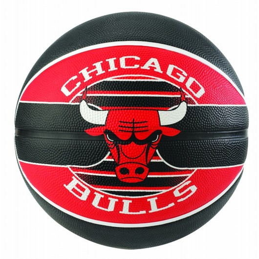 Spalding NBA Team Chicago Bulls No:7 Basketbol Topu