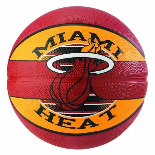 Spalding NBA Miami Heat No:7 Basketbol Topu
