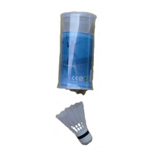 Protech Plastic (3 Pair) Badminton Topu