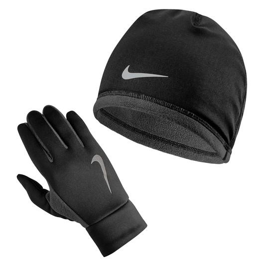 Nike Thermal Running Erkek Bere & Eldiven Takım