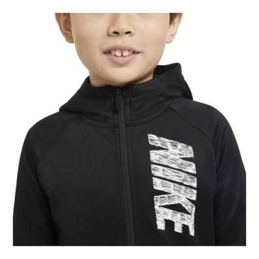Nike Therma Full-Zip Graphic Training Hoodie (Boys') Çocuk Sweatshirt