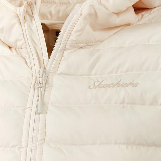 Skechers Outerwear Padded St Lightweight Full-Zip Hoodie Kadın Ceket