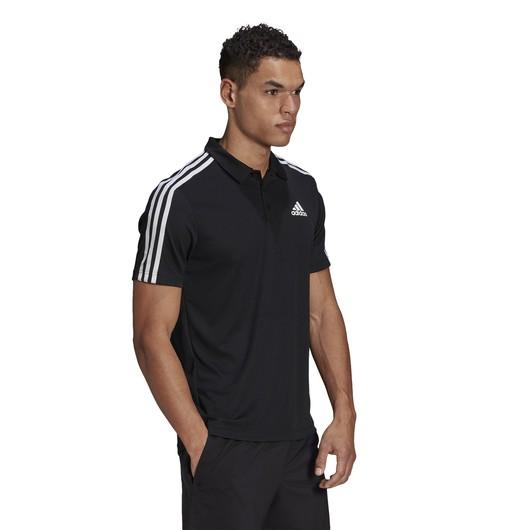 adidas Primeblue Designed To Move Sport 3-Stripes Polo Erkek Tişört