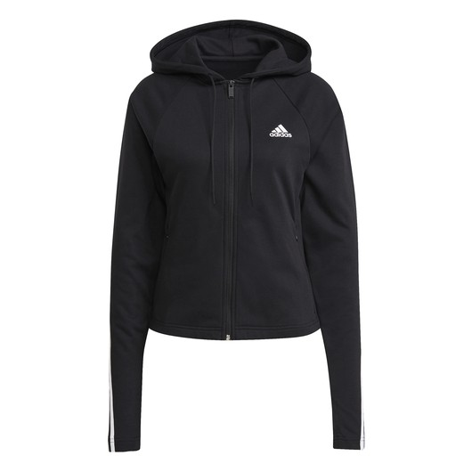 adidas Sportswear Slim Fleece Full-Zip Hoodie Kadın Eşofman Takımı